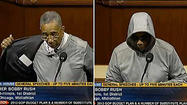 As concerns over the Trayvon Martin case mount, an Illinois congressman donned a gray hoodie Wednesday morning to deliver a speech on the House floor pressing for justice for the slain Florida teen and his family.