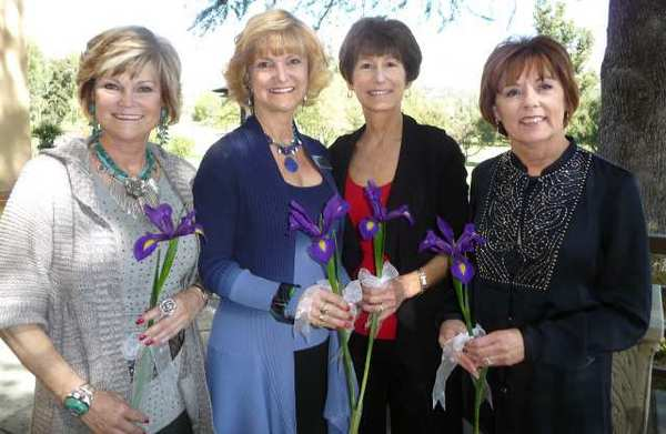 Los Altos 2012 New Members include, from left, Karen Sellergren, Sandy Mellin, Diane Moldafsky and KD Shaughnessy.