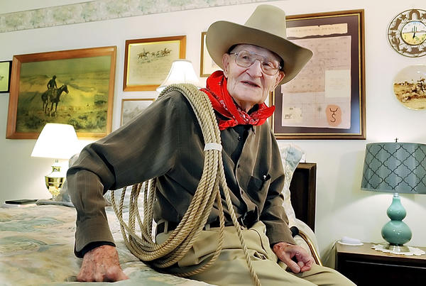 John Schlosser, 98, grew up on a Montana ranch and also took part in the building of the Pentagon and the Rayburn House Office Building.