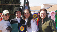 Three Wilson College equestrian students competed at the Intercollegiate Horse Show Association regional competition Saturday, March 17, at Briarwood Farm in Readington, N.J.