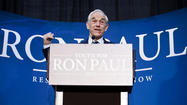 U.Md. crowd enthusiastically greets Ron Paul