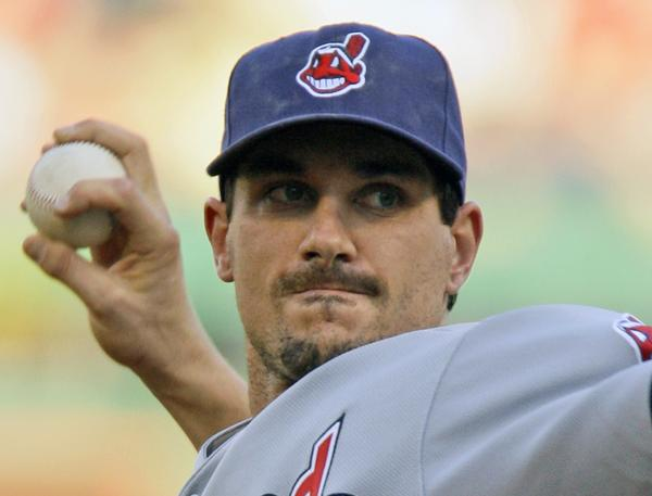 This is a June 24, 2009, file photo showing Cleveland Indians pitcher Carl Pavano throwing in the first inning against the Pittsburgh Pirates in a baseball game in Pittsburgh. The Minnesota Twins have acquired right-hander Carl Pavano from the Cleveland Indians in an attempt to shore up their rotation. The deal was announced Friday, Aug. 7, 2009.