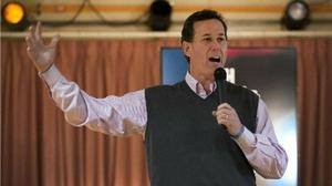 For the clearest contrast, vote Santorum