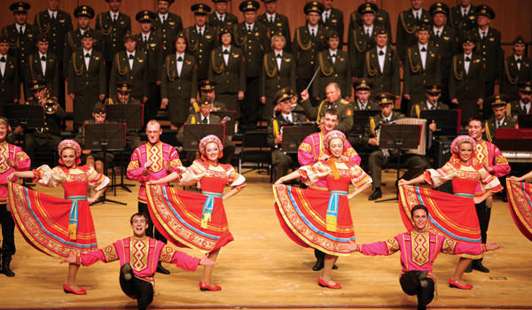 The Red Star Red Army Chorus and Dance Ensemble has been entertaining for 35 years.