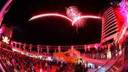 Pictures: Fireworks at sea aboard Disney's Fantasy