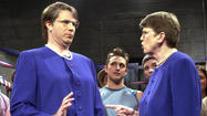 Confronted by the real Janet Reno