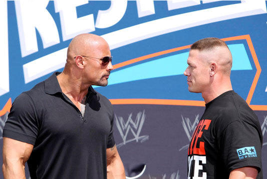 The Rock vs. John Cena