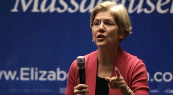 "Elizabeth Warren refers to ""Etch-A-Sketch senators"" in a new campaign video released this week."