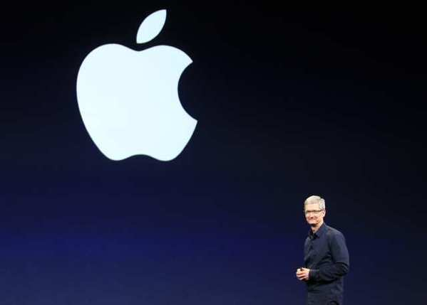 Apple CEO Tim Cook is the highest-rated chief executive on a list compiled by Glassdoor.