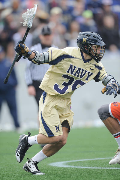 Navy sophomore attackman Tucker Hull ranks second in Division I in points per game with 5.1.
