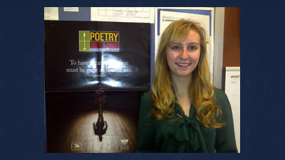 Julie Day, senior at Berlin Brothersvalley High School, won first place at the Poetry Out Loud: Regional Recitation Contest.