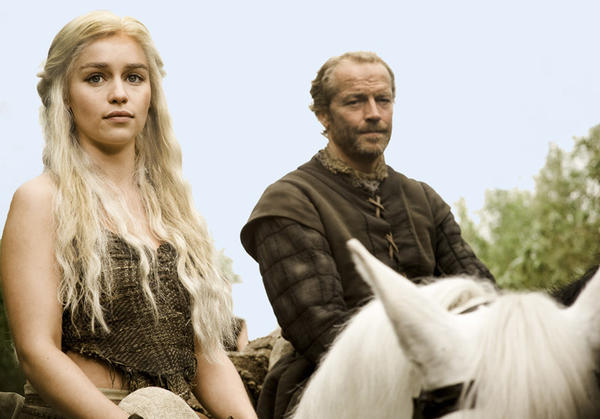 <i> Played by Iain Glen</i> <br> The former knight, exiled by Ned Stark, is devoted to Daenerys.