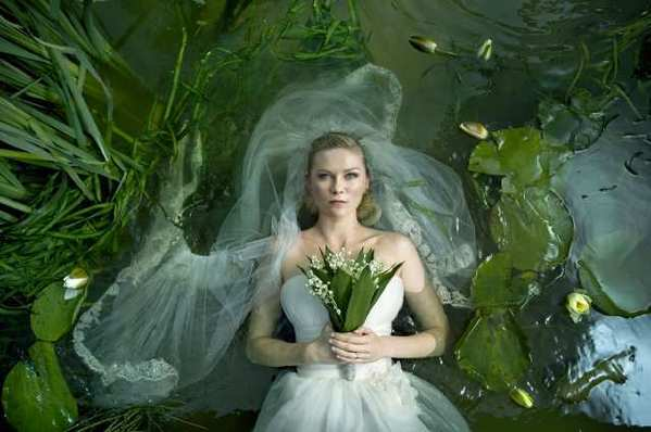Kirsten Dunst in 'Melancholia,' a Magnolia Pictures release.