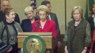 Gov. Christine Gregoire on Thursday signed into law a dozen bills meant to fight sex trafficking, including one aimed at commercial websites such as backpage.com that publish escort ads that have been blamed for exploiting minors for sex.