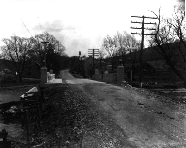 Memorial Bridge on Pa. 16 in Waynesboro is due for replacement. Town leaders are striving to keep its original look, which can be seen in this 1920s photo.
