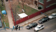 Nearly two decades after John Wayne Gacy's execution, Cook County sheriff's officials had hoped to examine the backyard of a Northwest Side apartment building in their continuing search for additional victims of the serial killer, a spokesman for Sheriff Tom Dart said.