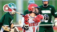 Despite North Hagerstown's best efforts, the Hubs were no match for Tuscarora in Thursday's boys lacrosse game at Mike Callas Stadium.