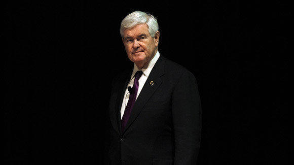 Newt Gingrich begins his Wisconsin campaign with an appearance at Marquette University.