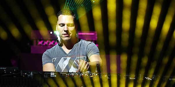 Tiesto at Coachella.