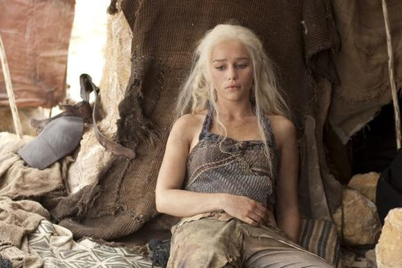 "<i> 8 p.m. April 1, HBO</i> <br> Read more on the return of <a href=""http://www.redeyechicago.com/entertainment/tv/redeye-game-of-thrones-back-more-epic-than-ever-tv-review-20120329,0,2840095.story"">""Game of Thrones,""</a> starring Emilia Clarke (above)."