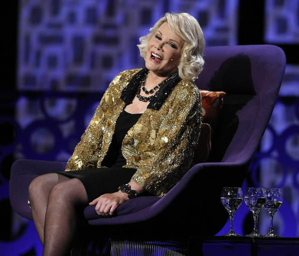 "We've heard Joan Rivers' comedy called borderline offensive. Well, we don't know what kind of borders those people have, but Rivers has been so far over the line most of her comedic career, we don't think she's ever seen it. Luckily, she's funny and not hurtful, although in the 2010 documentary ""Joan Rivers: A Piece of Work"" she does speak of people coming up to her after a performance to complain about some of her content; her replies: snarky, but sincere. Rivers feels if she can make fun at her own expense, then everyone else's dysfunctions and woes are also making it in her jokes. <br><BR><b> Why go: </b>Rivers may not have kept her original face, but she still has the same mind, no holds barred. <br><BR><b> Reconsider: </b>Rivers' exposure is almost as out of control as her plastic surgeries. <br><BR><b> Details: </b>7 and 9 p.m. Saturday at Arcada Theatre, 105 E. Main St., St. Charles; $39-$125; 630-962-7000, oshows.com"