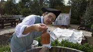 Wesley Greene has been a gardener with Colonial Williamsburg for more than 30 years. In 1996, he helped start the Colonial Garden where he and fellow gardener, Don McKelvey, dress in colonial attire and grow plants appropriate to that time, using 18th-century tools and techniques.