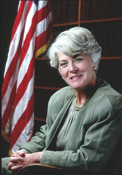 In 1984, Rep. Geraldine Ferraro was chosen by Democratic Presidential nominee Walter Mondale to be the first woman to run for vice-president on a major party  ticket.
