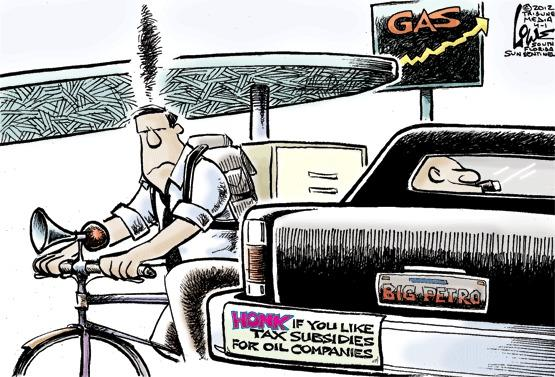 Honk if you like tax subsidies for oil companies