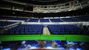 Fish find new home behind the plate at Marlins Stadium