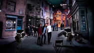 'Harry Potter' movie studio tour opens outside London