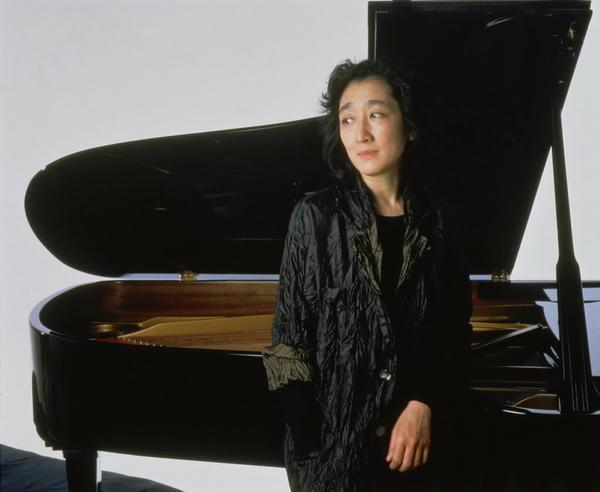Pianist Uchida Mitsuko.