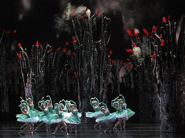 "The ballet classic ""The Firebird,"" with music by Igor Stravinsky, has been re-envisioned by Alexei Ratmansky. The production's world premiere, performed by American Ballet Theatre, opened Thursday at Segerstrom Center for the Arts in Costa Mesa."