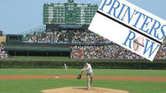 "Yup, I won a game for the Cubs when I was 9 years old, a kind of pre-pubescent reverse-Bartman deal. The next day's Chicago Tribune called the anonymous fan who interfered with a critical eighth-inning play ""the fourth outfielder,"" which. with its resonance of ""The Four Horsemen of Notre Dame,"" may have been the nicest thing anyone has ever called me, even if it implied I was playing that day for the Mets when I knew for sure that I was actually helping the Cubs. The picture in theChicago Sun-Times showed me with my eyes closed as I tried to make the catch just above the ivy on the wall."