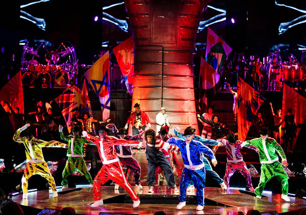 The Michael Jackson version of Circ du Soleil comes to Philadelphia on April 10 and 11.