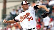Orioles option right-hander Chris Tillman to Triple-A Norfolk