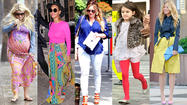 Celebs everywhere have caught spring fever, and it's showing up in their wardrobes.