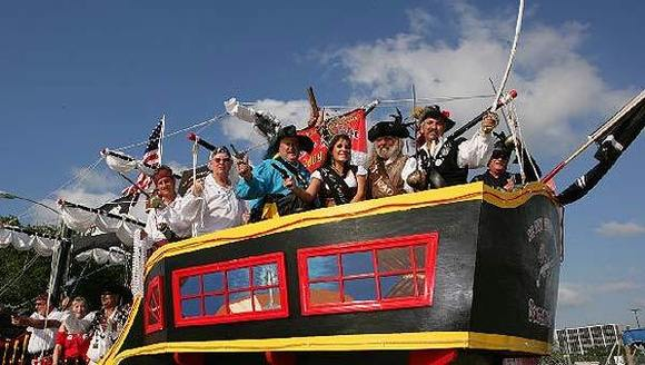 Travel to Louisiana -- Contraband Days Pirate Festival in Lake Charles
