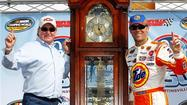 Kevin Harvick may have relinquished ownership in his NASCAR Camping World Truck Series team, but he hasn't lost any speed in the process.