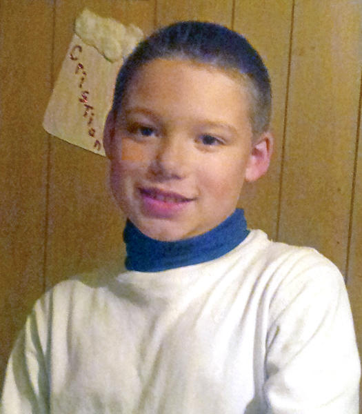 "Damien Lopez, 10, died in a Shenandoah house fire Tuesday along with his cousin, aunt and 7-month-old half-brother. His father Fidelmar ""Fidel"" Merlos-Lopez who is a Mexican national said he has been barred from entering the United States to bury his son."