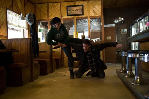 "The action film starring Gina Carano (left) and Channing Tatum (right) received an R rating from the MPAA due to ""some violence."" The film's appeal for a PG-13 rating was rejected."