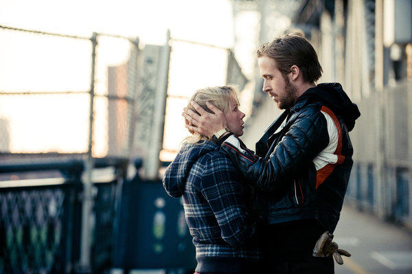 "The MPAA initially gave ""Blue Valentine"" an NC-17 rating due to a scene depicting oral sex on a woman. Ryan Gosling (right) accused the association of sexism because other films have depicted oral sex on men and received R ratings.  The film's distributor, The Weinstein Company, appealed for an R rating without cutting any scenes and was successful."