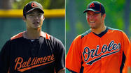 Two likely members of the Orioles' starting rotation — left-hander <strong>Wei-Yin Chen</strong> and right-hander <strong>Tommy Hunter</strong> — made their final spring starts Sunday afternoon to varying degrees of success.