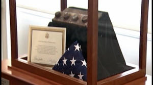 Recovered piece of steel from the World Trade Center finds home at UVA