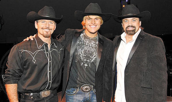 "The Texas Tenors, from left, JC Fisher, Marcus Collins and John Hagen, are classically trained vocalists who first worked together as part of ""America's Got Talent."""