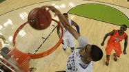 Kentucky's Anthony Davis and Kansas' Thomas Robinson have graced college basketball throughout this season, and tonight is their parting gift: a rare collision of consensus first-team All-Americans in the national championship game.