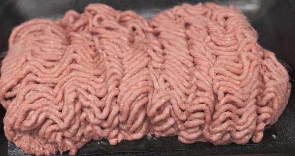 "Lean finely textured beef, also known as ""pink slime,"" is displayed at Beef Products Inc.'s Nebraska plant. Competitor AFA Foods Inc. blamed controversy about the product for its bankruptcy filing."