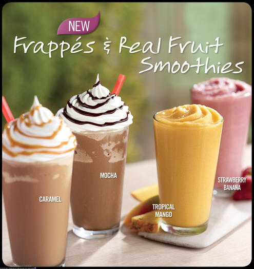 Burger King to add frappes and fruit smoothies to its menu