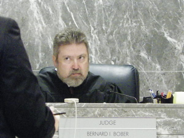 Broward Circuit Judge Bernard Bober returned to work Monday after a two-month absence. Bober recovered from a spinal cord inflammation.