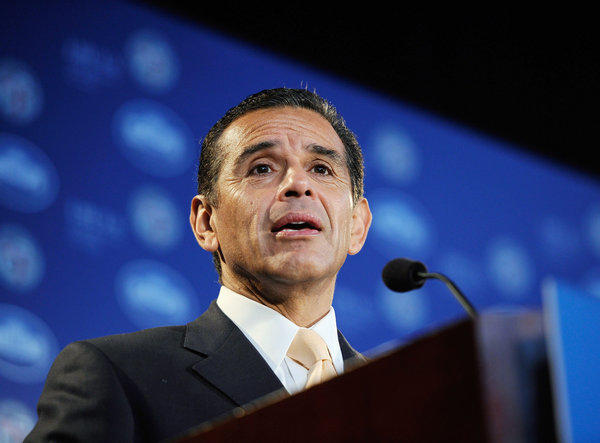 """The idea that our initiatives, which are being replicated around the country and are recognized around the country, are not effective just doesn't measure up to the facts,"" Los Angeles Mayor Antonio Villaraigosa said."