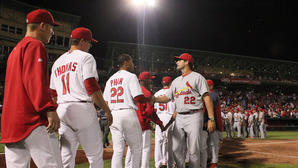 St. Louis Cardinals hold off Springfield 3-2